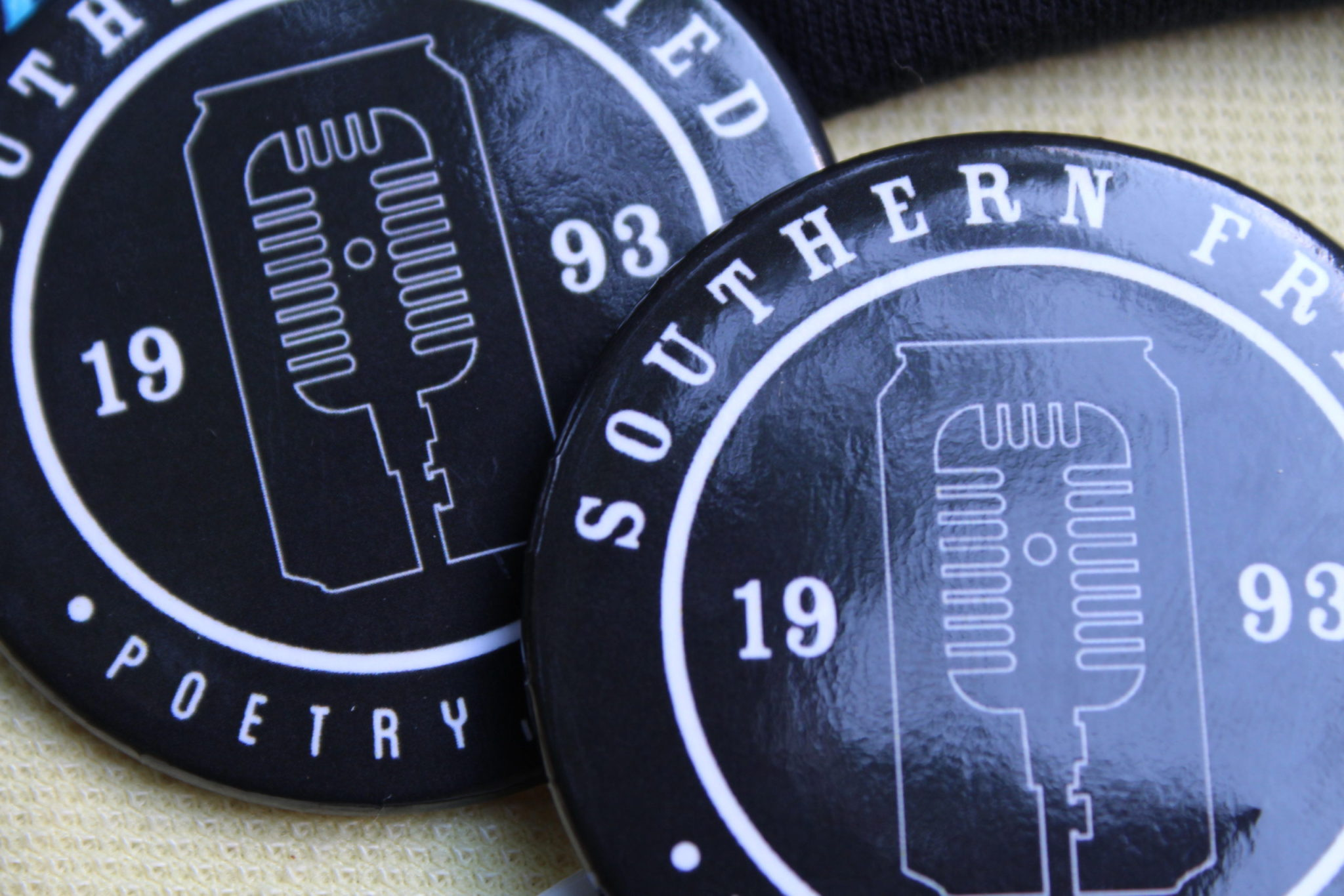 SoFried Poetry Buttons – Black