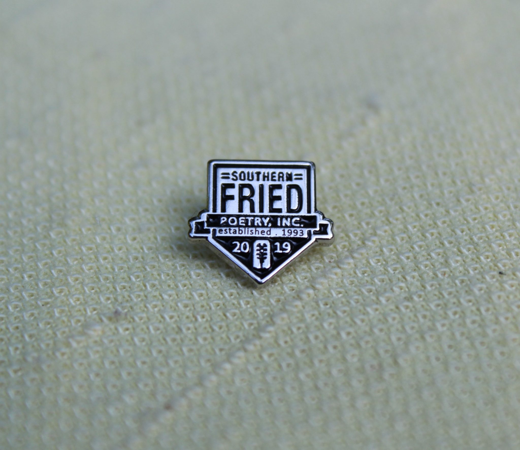 SoFried Poetry Lapel Pin 2019