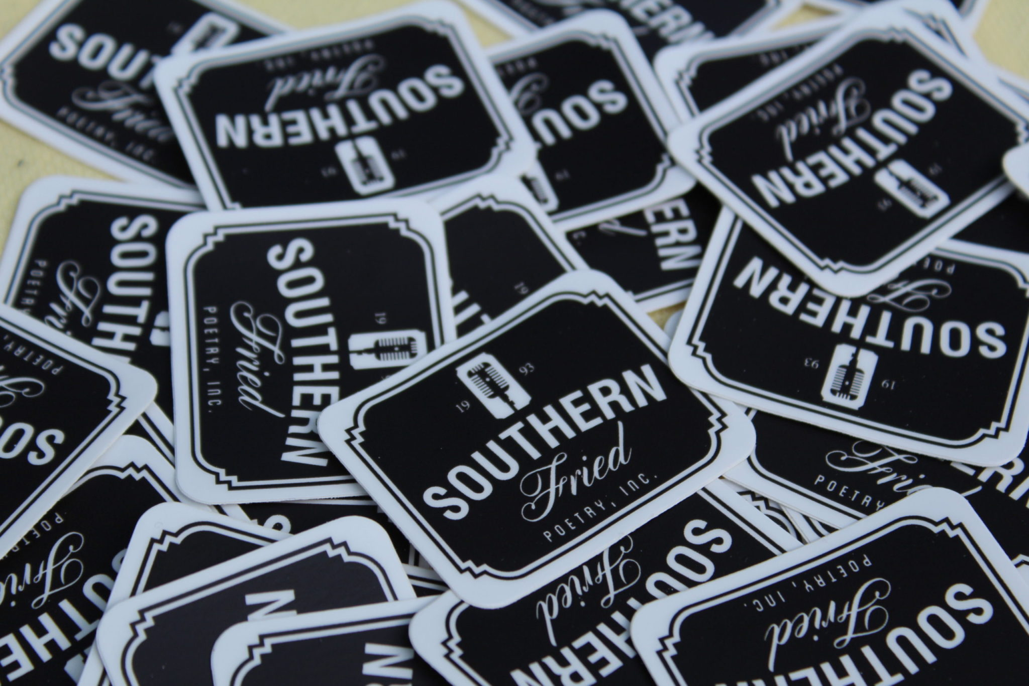 SoFried Poetry Stickers – 5 Pack